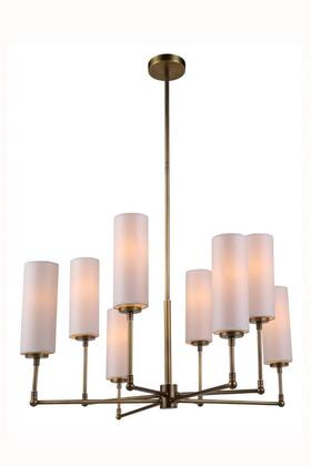 1410G34BB 1410 Richmond Collection Pendant Lamp D: 34 H: 44.5 Lt: 8 Antique Bronze 674317