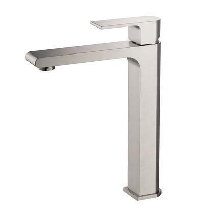 FFT9152BN Allaro Single Hole Vessel Mount Bathroom Vanity Faucet - Brushed