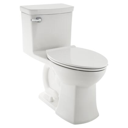 Townsend 2922A.104.020 VorMax Elongated One-Piece Toilet with EverClean Antimicrobial Surface  Slow-Close Seat and Cover and CleanCurve Rim in