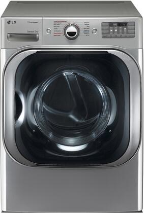 LG DX8101V 9.0 cu. ft. Mega Capacity Gas Dryer w/Steam Technology in Graphite Steel