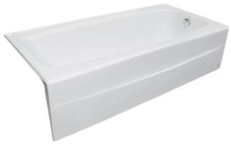 2696.102.020 Spectra 5-1/2 ft. Cast-Iron Bathtub with Right-Hand Drain in