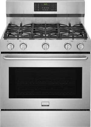 Frigidaire FGGF3685TS Gallery 36 Gallery Stainless Steel Gas Range
