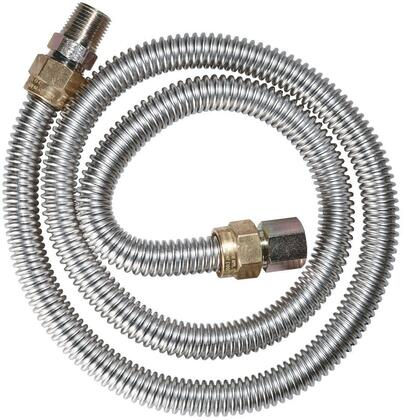 CONNDORM20313160 20-3131-60 SS Non-Coated Dryer Connector 1/2 inch  OD x 60 inch  Length; 1/2 inch  MIP x 1/2 inch