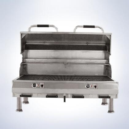 8800EC1056TTD48 8800 Series 48 inch  Table Top Grill With 18 Gauge Stainless Steel Construction  Dual Digital Controls  Automatic Shut-Off  Stainless Steel Cooking