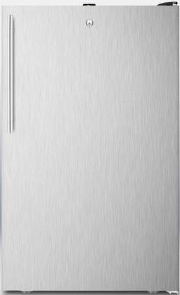 FF521BLBISSHV 20 inch  FF521BLBI Series Medical Freestanding or Built In Compact Refrigerator with 4.1 cu. ft. Capacity  Adjustable Glass Shelves  Crisper  Interior