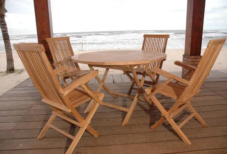 SET-28 5-Piece Dining Set with Bahama 47