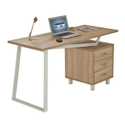 RTA-2333-SND Techni Mobili Modern Design Computer Desk with Storage. Color: