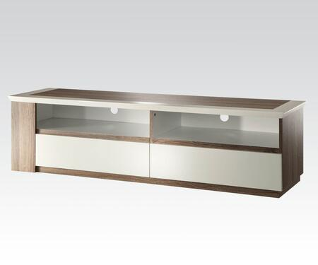 91136 Kilee 60 inch  TV Stand with Faux Drawers in