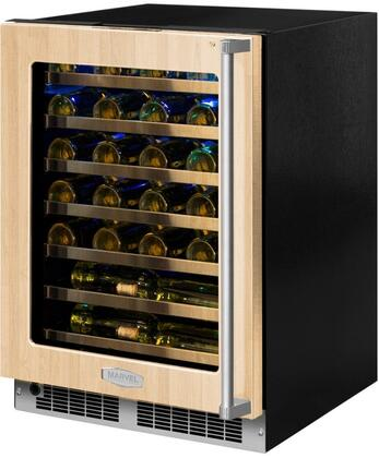 MP24WSF5LP 24 inch  Marvel Professional High-Efficiency Single Zone Wine Refrigerator with Dynamic Cooling Technology  Vibration Neutralization System  Thermal