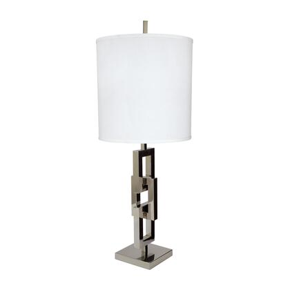 225062 Chain Link Table Lamp With White