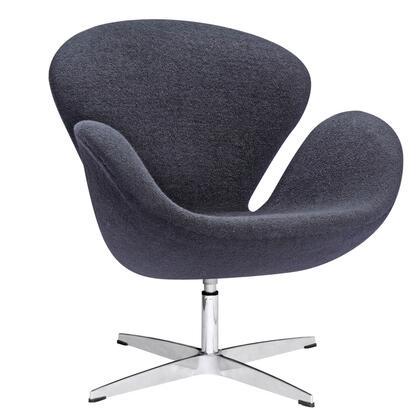 FMI1140-black Swan Chair Fabric