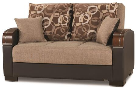 Mobimax Collection MOBIMAX LOVE SEAT BROWN 14-321 65