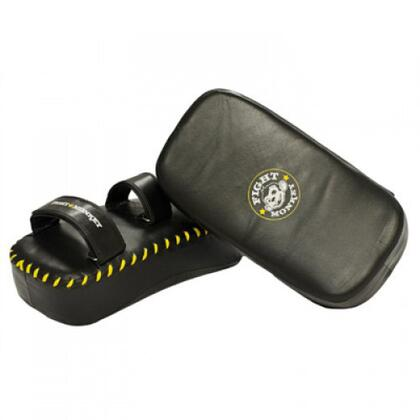 FM-601LMT-PAD Pair of Muay Thai Pads with Velcro Closure  Extra Thick  Light Weight Design and 100% Leather in