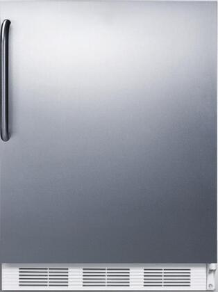 FF7SSTBLH 24 inch  Commercially Listed  Energy Star Freestanding Refrigerator with 5.5 cu. ft. Capacity  Automatic Defrost  Interior Light on Rocker Switch and