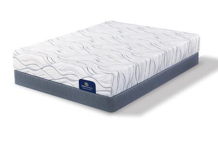 Meredith Way 500080688-TXLMFLP Set with Luxury Firm Twin Extra Long Mattress + Low Profile