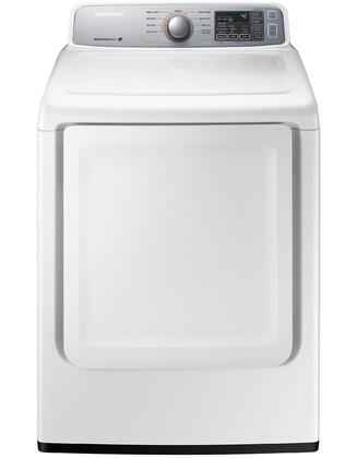 DV45H7000GW 7.4 cu. ft. Front Load Gas Dryer with Sensor Dry  9 Preset Drying Cycles and Adjustable Temperature: 349844