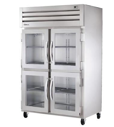 STA2R-4HG Spec Series Two-Section Reach-In Refrigerator with 56 Cu. Ft. Capacity  134A Refrigerant  LED Lighting and Glass
