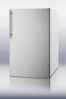 FS407LXSSHV 20 inch  Medically Approved Compact Freezer with 2.8 cu. ft. Capacity  Pull Out Drawers  Manual Defrost  Fully Finished Cabinet and Adjustable