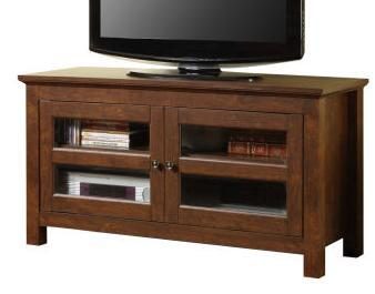 WQ44CFDTB 44 Brown Wood TV Stand