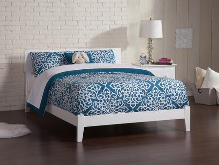 Orlando Collection AR8131032 Full Size Traditional Bed with Eco-Friendly Solid Hardwood Construction and Non-Toxic Finish in
