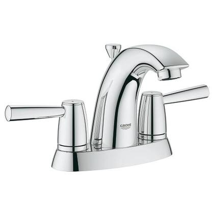Arden Series 2038800A 4 inch  Centerset Bathroom Faucet with Solid Brass Body  Lever Handles and 1.2 GPM Flow Rate in StarLight Chrome