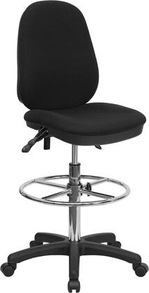 KC-B802M1KG-GG Ergonomic Multi-Functional Triple Paddle Drafting Stool with Adjustable Foot