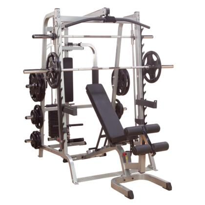 GS348QP4 Series 7 Smith Gym with Bearing Smith Machines and Selectorized Latch