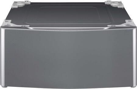 WDP4V 27 Laundry Pedestal Plus Storage Drawer in Graphite