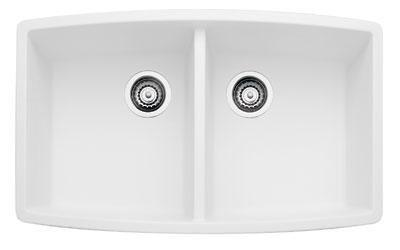 440071 Performa Silgranit Equal Double Bowl Kitchen Sink In