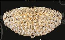 Firework Collection 99005F24G 24 inch  Wide Chandelier in Gold