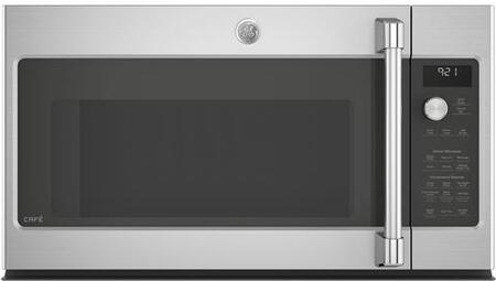 CVM9215SLSS 30 inch  Over the Range Microwave Oven with 2.1 cu. ft. Capacity  Chef Connect  LED Cooktop Lighting  and four-Speed 400 CFM Venting Fan System  in