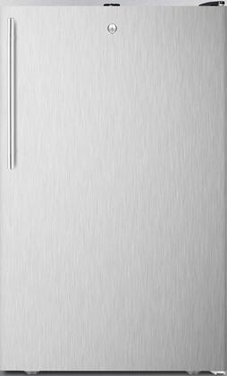 FS408BL7BISSHVADA 20 inch  ADA Compliant Upright Freezer with 2.8 cu. ft. Capacity  Factory Installed Lock  Manual Defrost  Pull-Out Drawers and Reversible Door  in