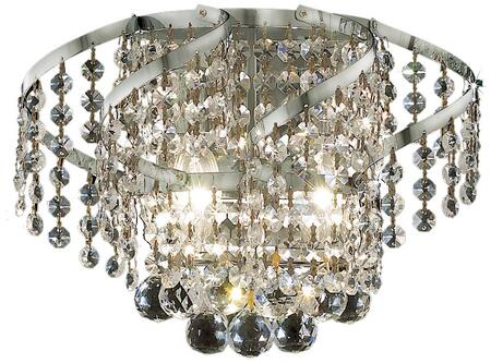 VECA1W12C/SS Belenus Collection Wall Sconce D:12In H:8In E:9In Lt:2 Chrome Finish (Swarovski   Elements