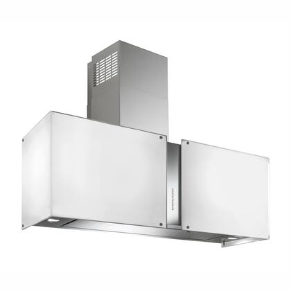 WL27MURSNOWLED 27 inch  Murano Snow Series Range Hood with 940 CFM  4-Speed Electronic Controls  Delayed Shut-Off  Filter Cleaning Reminder  Internal Whisper-Quiet