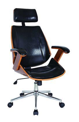 97915 Lucas Desk Chair in Black