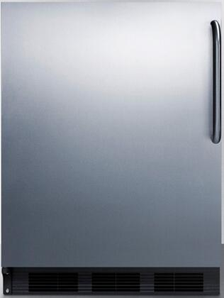 FF6B7SSTBLHD 24 inch  FF67 Series Energy Star  Medical  Commercial Freestanding Compact Refrigerator with 5.5 cu. ft. Capacity  Door Storage  Crisper  Adjustable