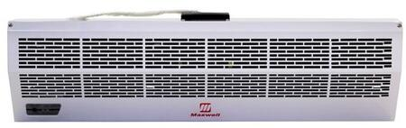 Hot Storm MAFH060-E2 60 inch  Commercial Industrial Air Curtain with Electric Heater  Infrared Remote Control  Temperature control  Improves Air Circulation  and