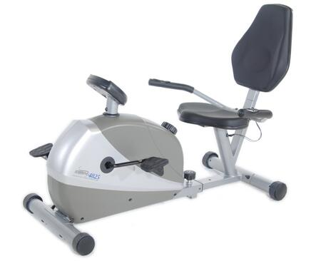 15-4825 Programmable Magnetic 4825 Bike with 6 Preset Fitness Programs  Quiet Magnetic Resistance  Dial Tension Control and Built In Fingertip Pulse
