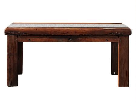 DS-C0216 Vesta Rectangular Dining Table with Acaicia and Robinia Wood Construction in Rustic