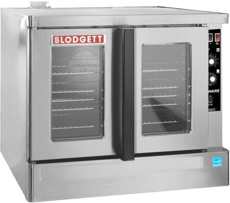 Zephaire-100-G-ES BASE Zephaire Series Energy Star Standard Depth Gas Convection Oven with Rigid Insulation  Porcelain Liner  Dependent and Heavy Duty Doors: