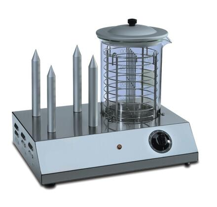 HOTDOG - Hot Dog Steamer & Warmer 4 Buns warmers and one Pyrex Steam