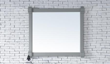 Brittany Collection 650-M43-UGR 43 inch  x 39 inch  Mirror with Solid Kiln-Dried Wood Frame and Molding Details in Urban
