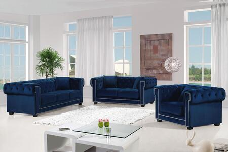 Bowery Collection 739492 3-Piece Living Room Sets with Stationary Sofa  Loveseat and Living Room Chair in