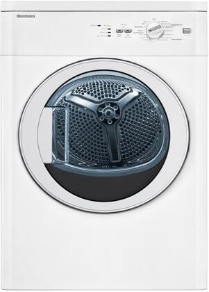 "DV17542 24"" Front-Load Electric Dryer with 3.67 cu. ft. Capacity  15 Cycles  Automatic Sensor Drying  Clean Filter Light  Stainless Steel Drum and:"