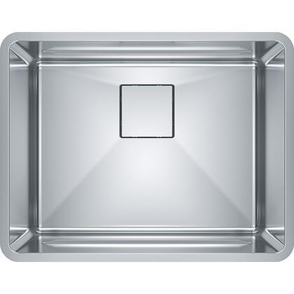 PTX110-22 Pescara 23 5/8 inch  Single Bowl Undermount Stainless Steel Kitchen