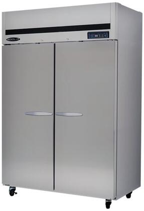 KTSF2 Double Doors Freezer with 2 Doors  6 Shelves  44.7 cu. ft. Capacity  3/4 HP  LED Interior Lighting  in Stainless