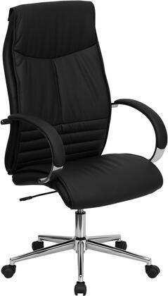 BT-9996-BK-GG High Back Black Leather Executive Office