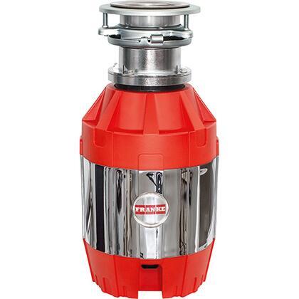 Franke FWDJ75B 3/4 HP Disposer 1, 16.7 x 9 x 12.5 Red/Silver