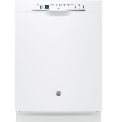 "GE 24"" Tall Tub Built-In Dishwasher White GDF650SGJWW"