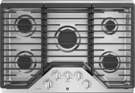 GE PGP7030SLSS 30 Inch Gas Cooktop